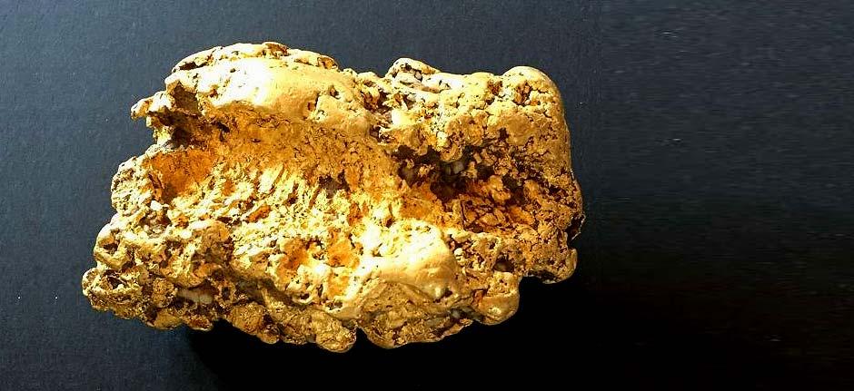 Retiree finds massive gold nugget