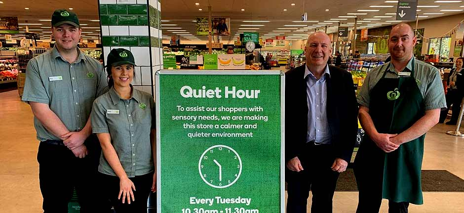 Woolworths rolls out Quiet Hour in Hastings and the Macleay