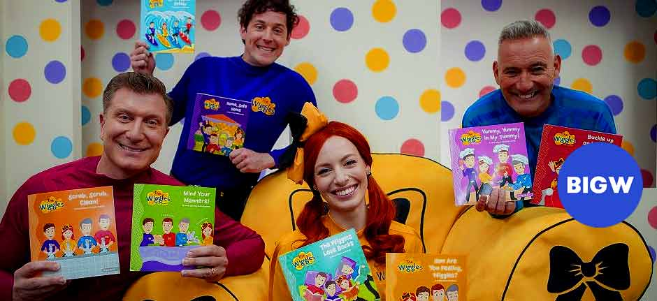 BigW's Free Books For Kids Returns with The Wiggles