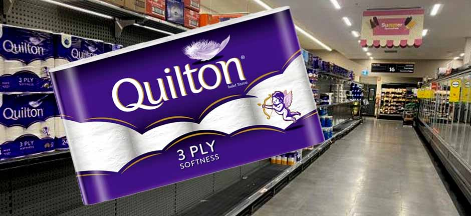 Roll On ! Quilton to donate 1m rolls to aussies in need