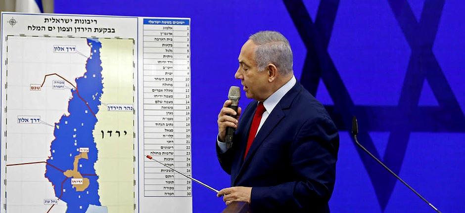 Israel vows to annex occupied Jordan Valley