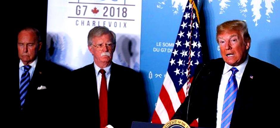 Donald Trump fires national security adviser John Bolton