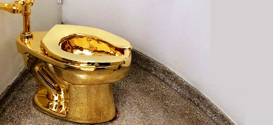 Gold toilet stolen in Blenheim Palace burglary