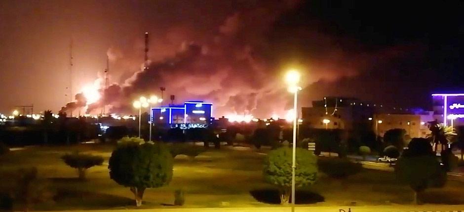 Houthi drones attack 2 Saudi Aramco oil facilities