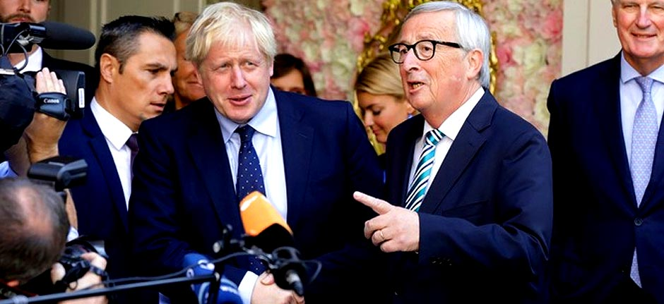 Brexit: Boris Johnson attacked by Luxembourg PM