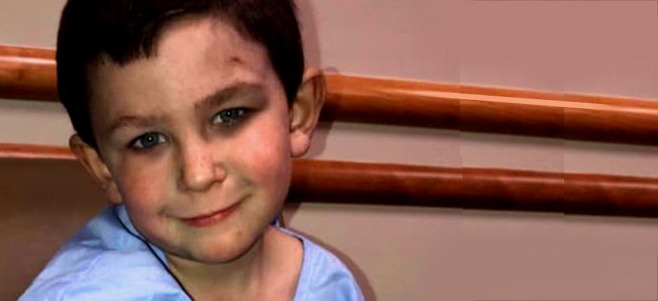5yr Old hero saves sister & dog from house fire