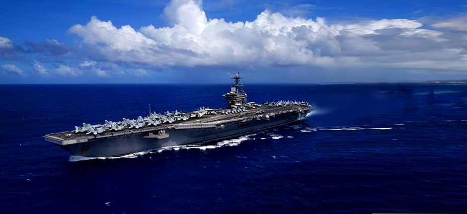 USS Theodore Roosevelt: Sailors flown home for treatment