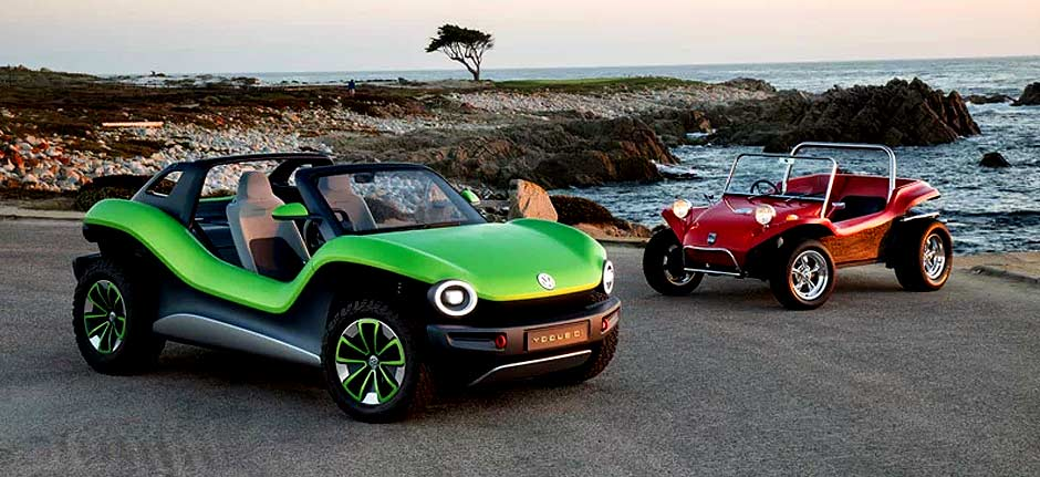 volkswagen presents all-electric Off-Road Buggy