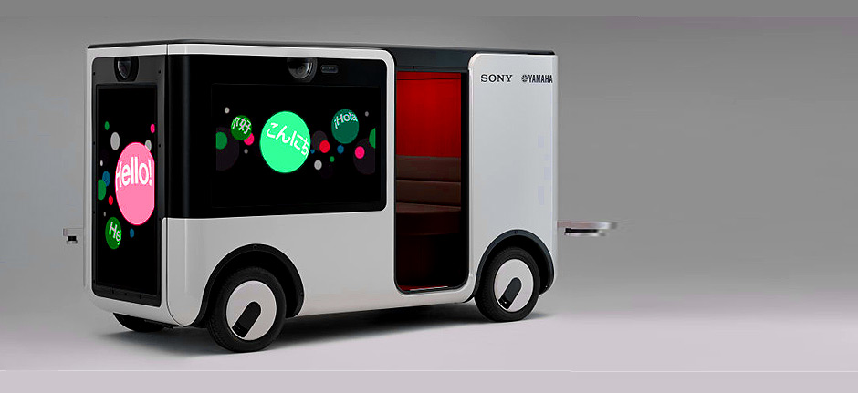 Sony and Yamaha team up to design driverless cart