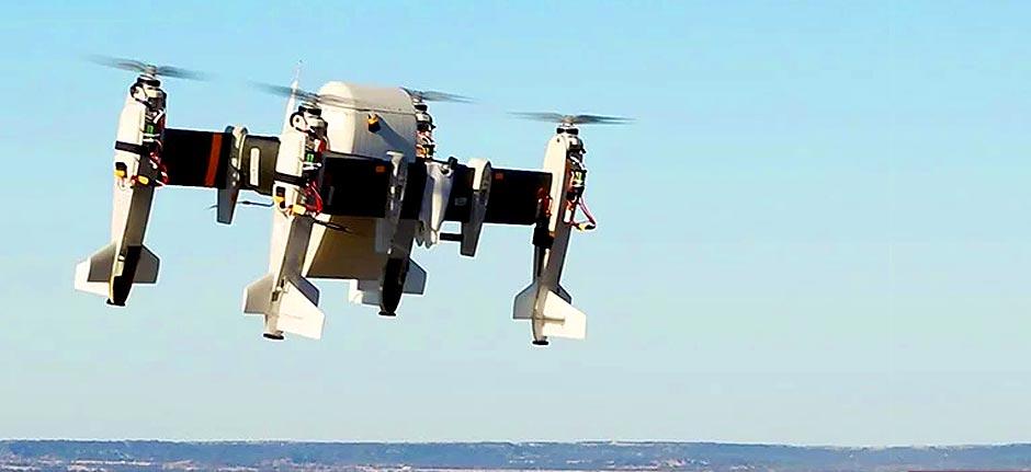 bell's autonomous APT 70 cargo drone: 32kg lift