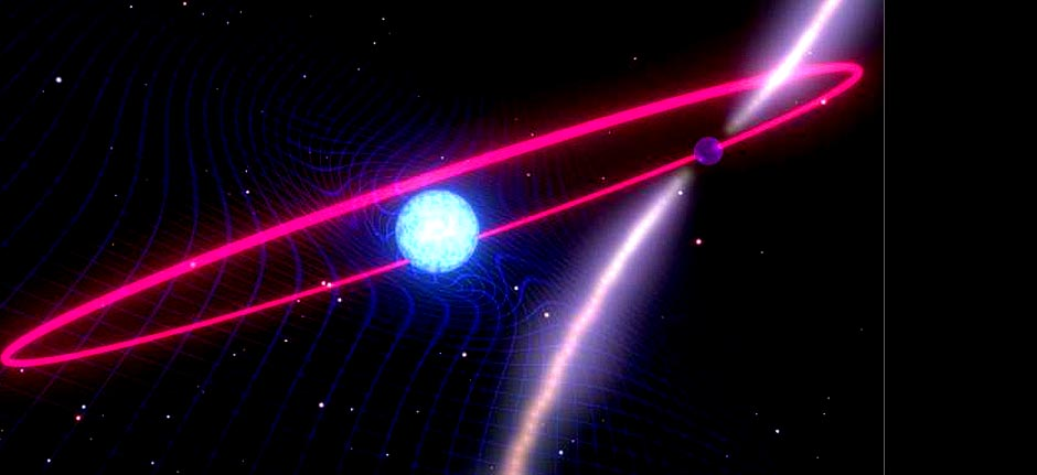 Space-warping star system proves Einstein's right - Again