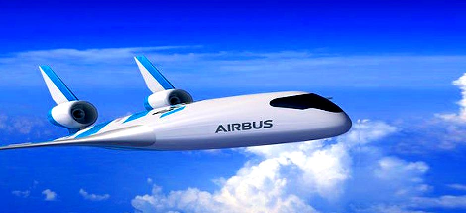 Airbus reveals futuristic blended wing aircraft design