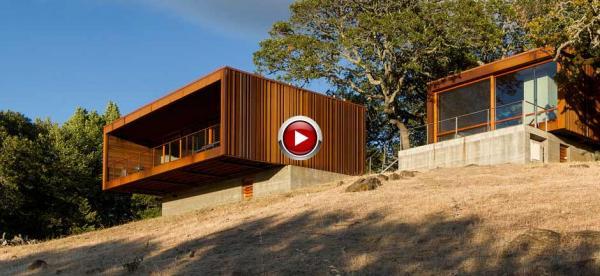 architect picks small prefab to savor countryside