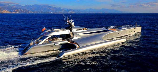 Worlds Largest Trimaran Megayacht