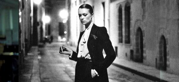 Helmut Newton 'La Smoking' For YSL