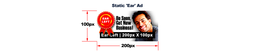 Ad-Creation - Ear Ad - Static 200px X 100px
